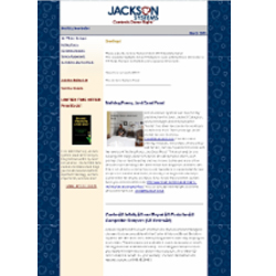 March 2013 - Newsletter