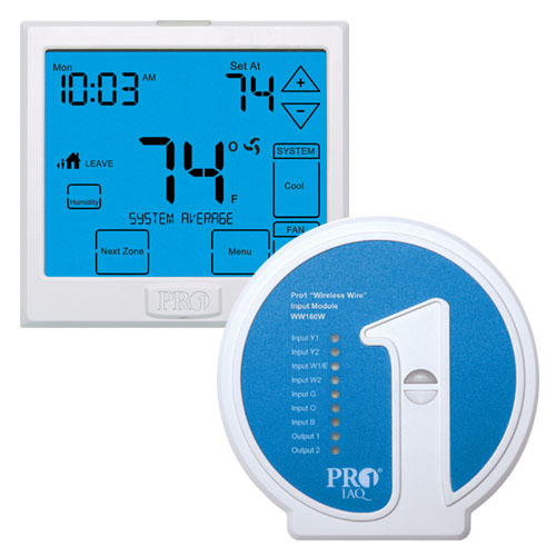 Pro1 Iaq Programmable 3h2c Wireless Touchscreen Thermostat With