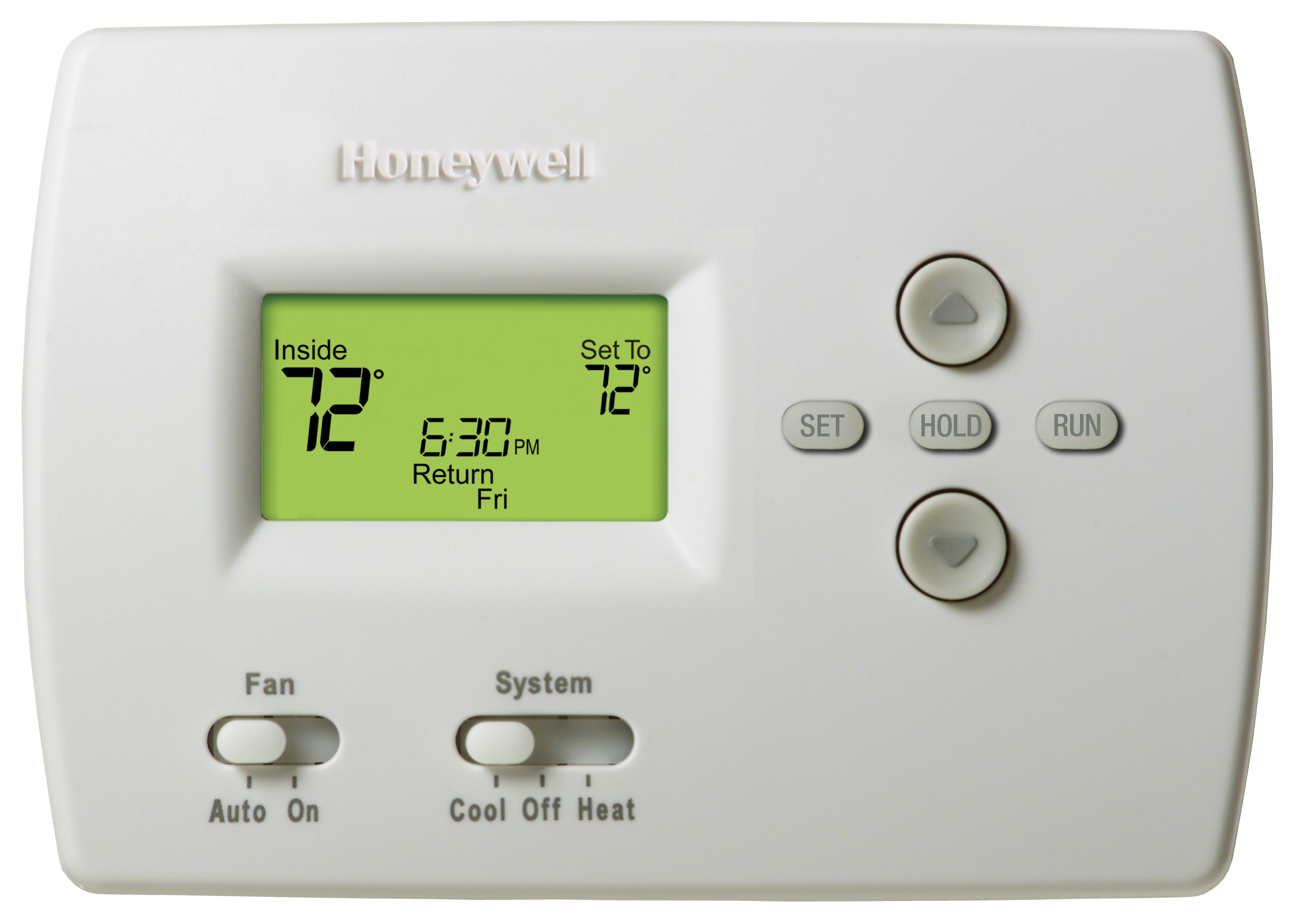 Honeywell Programmable 1H/1C Thermostat. Product